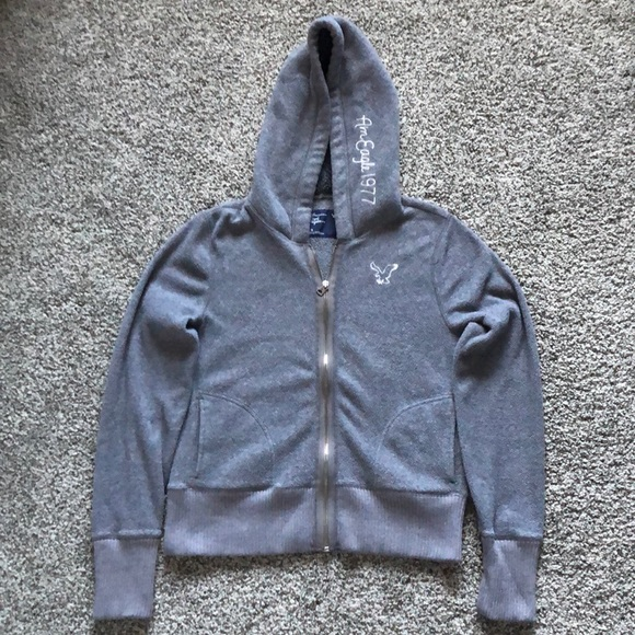 American Eagle Outfitters Other - ⬇️🦅American Eagle Outfitters Gray Jacket🦅